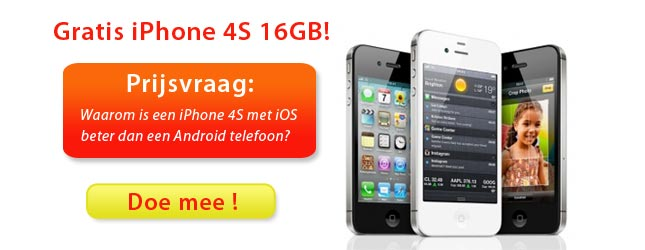 Gratis iPhone 4S