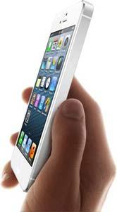 iPhone 5 van dichtbij
