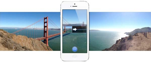 iPhone 5 panorama foto maken