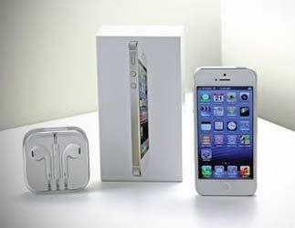 iPhone 5 wit zo uit de doos