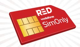 Vodafone Red simonly