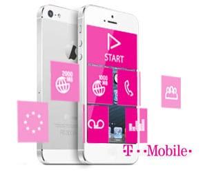 iPhone 5 met T-mobile stel samen