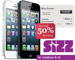 Sizz met iPhone 4 of iPhone 5