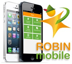 Robin mobile met iphone 5