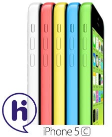 iPhone 5C met hi abonnement