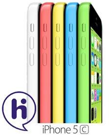 iPhone 5C met hi abonnement