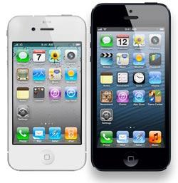iPhone 5 met iPhone 4S vergelijken