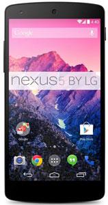 LG Nexus 5 zwart 16GB