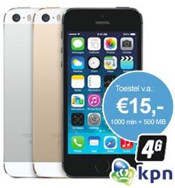 iPhone 5s met kpn 2 jaar