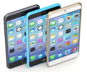 De nieuwe iPhone 6 zwart goud wit