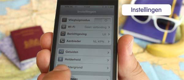 Iphone tips voor tijdens vakantie of in het buitenland