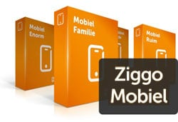 Het nieuwe mobiele abonnement van Ziggo
