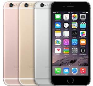 iPhone 6s 4 kleuren voor 2015 en 2016
