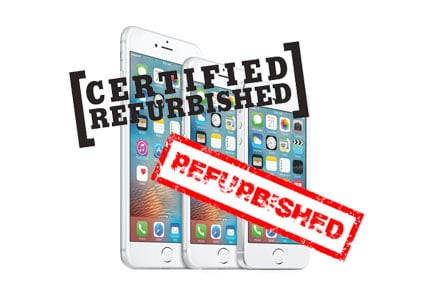 Certified Refurbished iPhone modellen