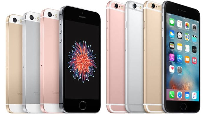 iPhone 6S en SE kleuren