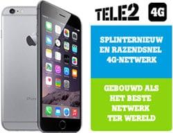 De iPhone 6S met Tele2; altijd 4G!