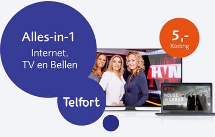 Nog meer voordeel via Telfort alles in 1 thuis