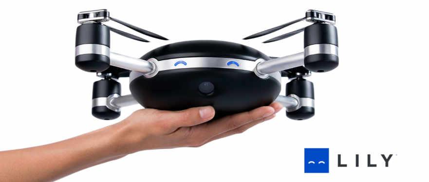 lily drone met iPhone besturen